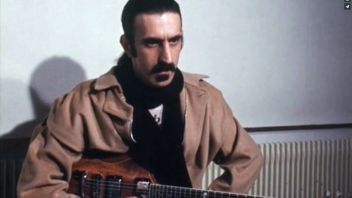 Watch Frank Zappa Crack Jokes, Talk Creativity in Doc Clip