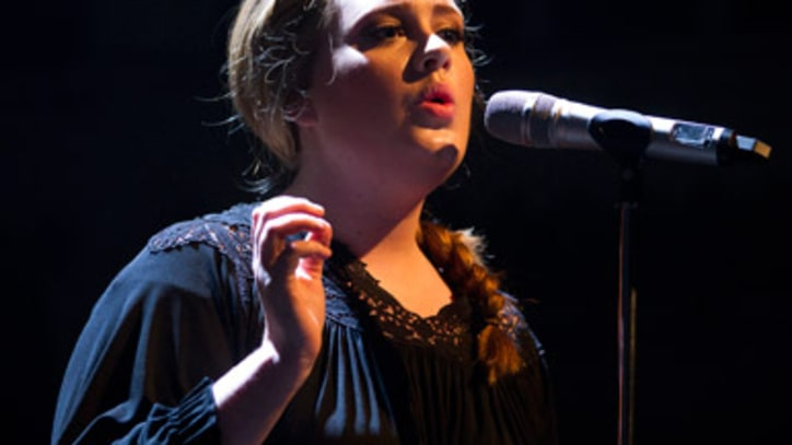 Adele Leads Record Industry to Sales Spike