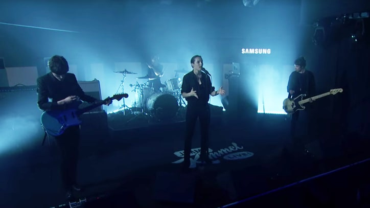 See Savages Thrash Through 'The Answer' on 'Kimmel'