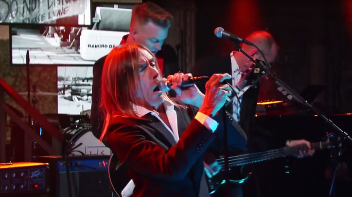 Watch Iggy Pop, Josh Homme Debut 'Gardenia' on 'Colbert'