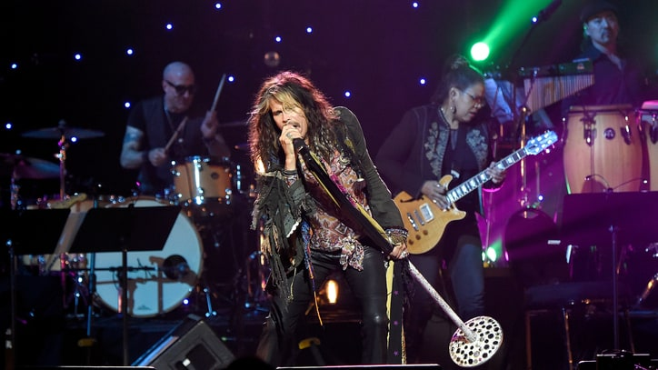 Hear Steven Tyler's Polished New Country Song 'Red, White and You'