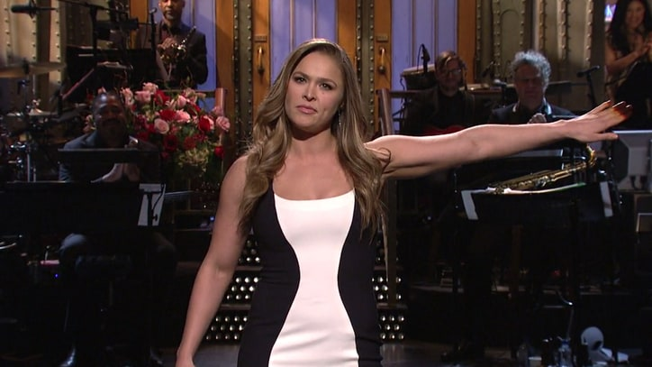 Ronda Rousey on 'SNL': 3 Sketches You Have to See