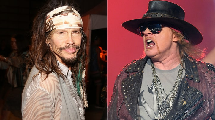 Steven Tyler Helped Convince Axl Rose to Reunite Guns N' Roses
