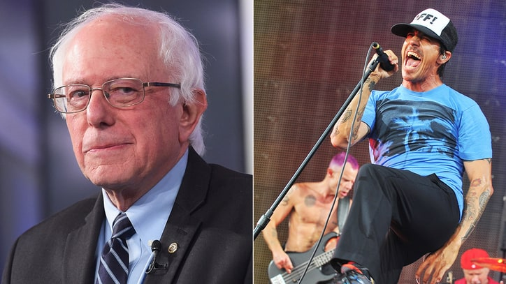 Red Hot Chili Peppers Headlining Bernie Sanders Fundraiser Concert