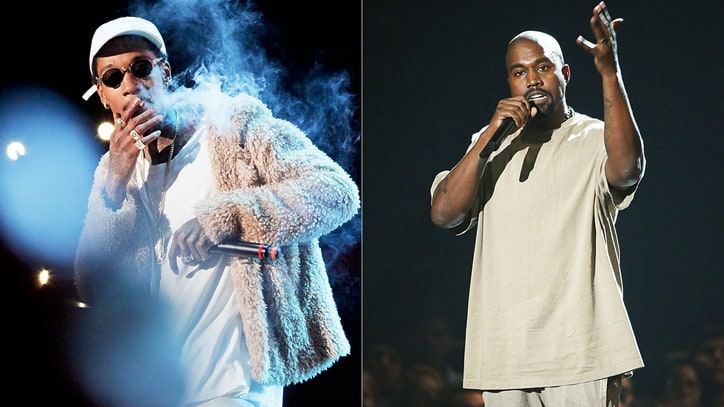 Kanye West Blasts Wiz Khalifa Over 'Waves' Comments