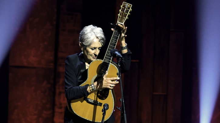 Joan Baez Shines at All-Star 75th-Birthday Show