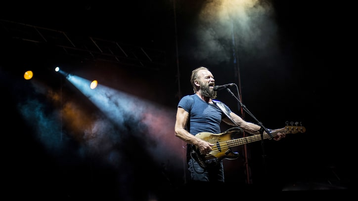 Sting to Headline NBA All-Star Game Halftime Show