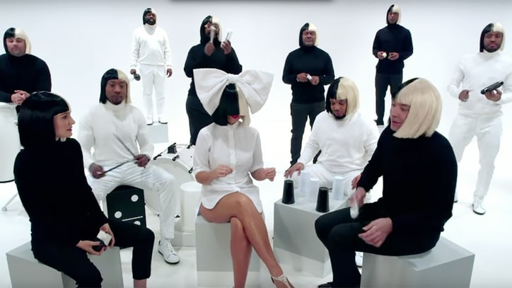 Sia, Natalie Portman, Fallon Deliver Chipper 'Iko Iko' on 'Tonight'