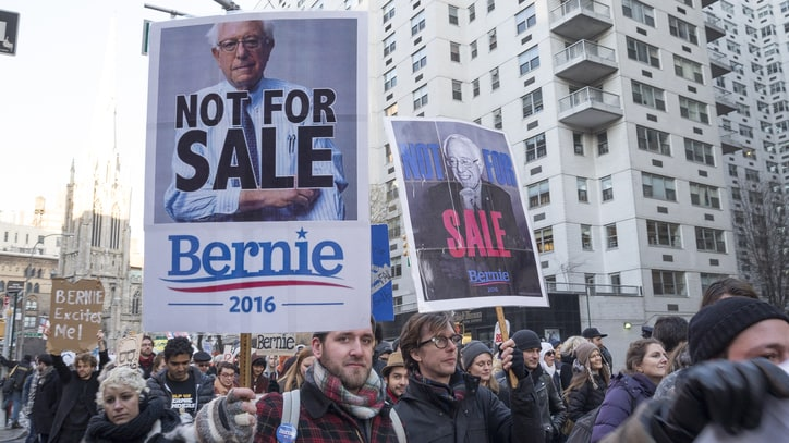 'March for Bernie' Is an Occupy Wall Street Homecoming