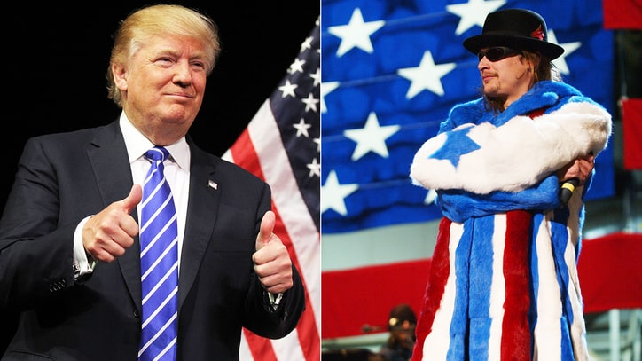 Kid Rock: 'I'm Digging Donald Trump'