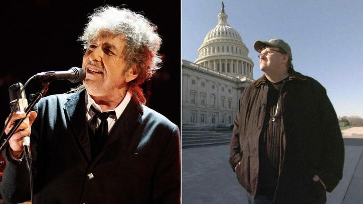 Michael Moore: Bob Dylan Loved 'Fahrenheit 9/11'
