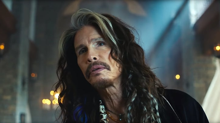 Watch Steven Tyler Sing for Skittles in New Super Bowl Ad