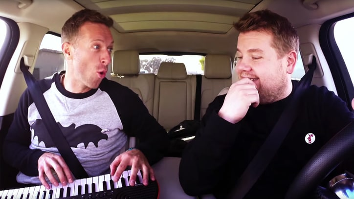 Watch Chris Martin Sing David Bowie in 'Carpool Karaoke'