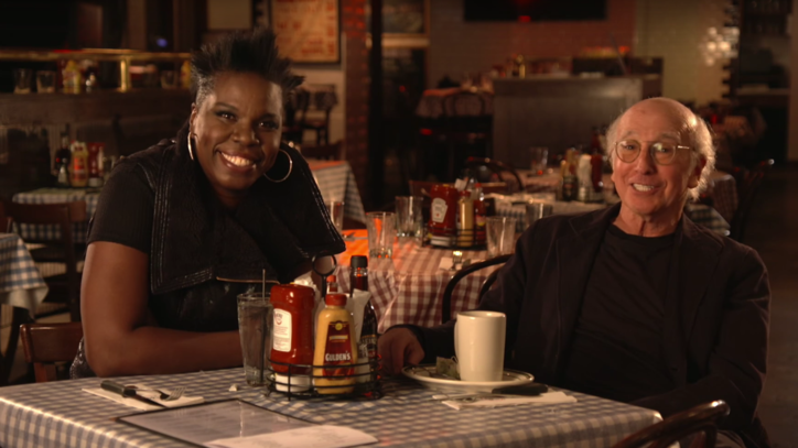 Watch Larry David, Leslie Jones Spar in Funny 'SNL' Promo