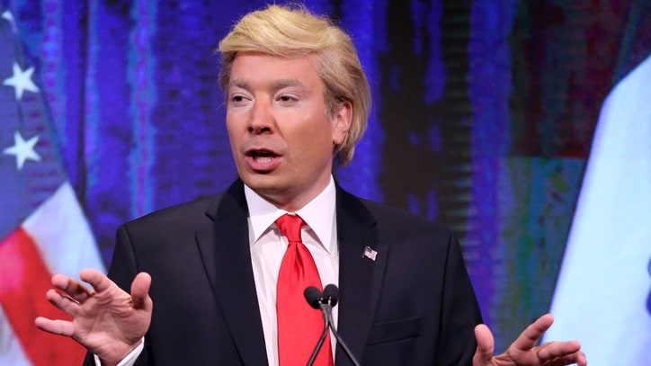 Watch Jimmy Fallon Mock Donald Trump's Second-Place Iowa Finish