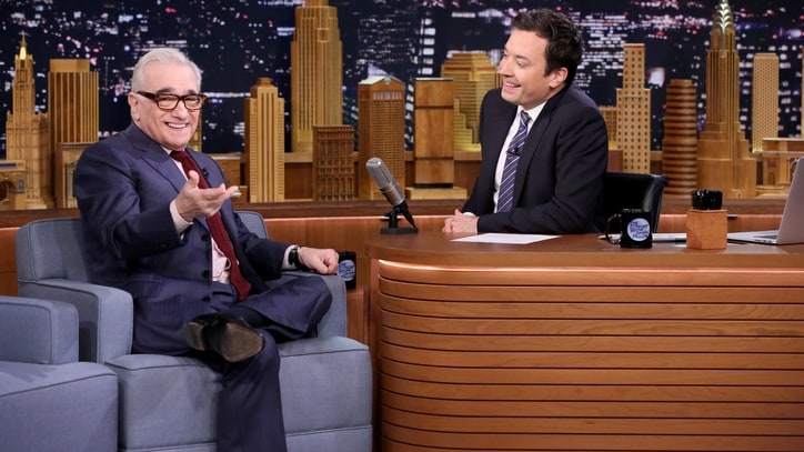 Watch Martin Scorsese Impersonate Robert De Niro on 'Fallon'