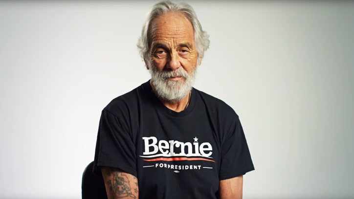 Tommy Chong on Why He Supports Bernie: Weed, Basically