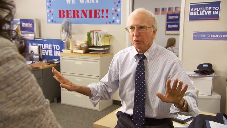See Larry David's 'Bern Your Enthusiasm' 'SNL' Parody