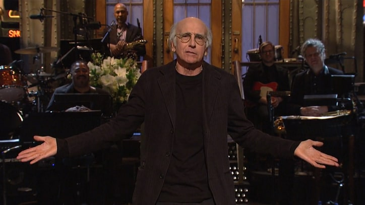 Larry David on 'SNL': 3 Sketches You Have to See