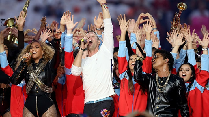 Watch Coldplay, Beyonce and Bruno Mars Rock Super Bowl 50 Halftime