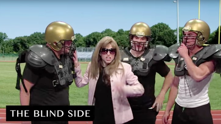 Watch James Corden, Anna Kendrick Recreate History of Sports Movies