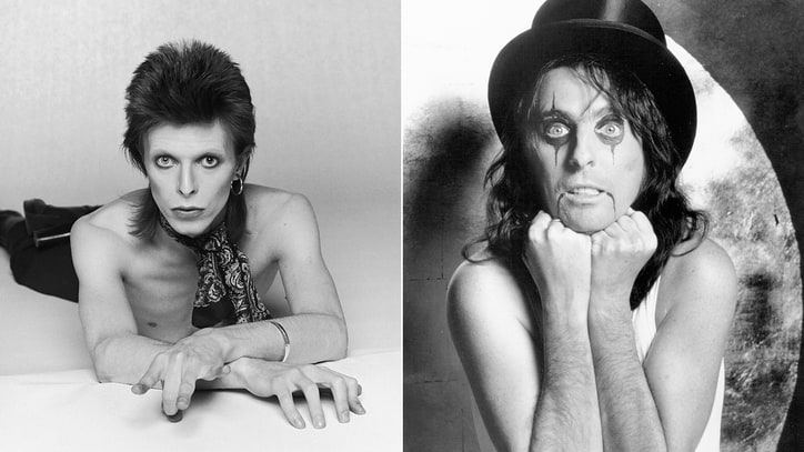 Alice Cooper on His Dinner With David Bowie and Ray Bradbury