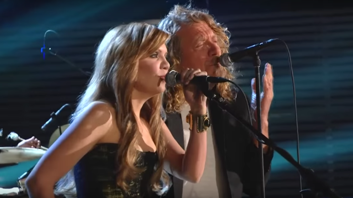 Flashback: See Alison Krauss and Robert Plant's Dynamic Grammy Duet