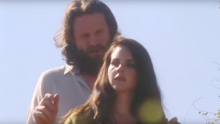 Lana Del Rey Recruits Father John Misty for Gauzy 'Freak' Video