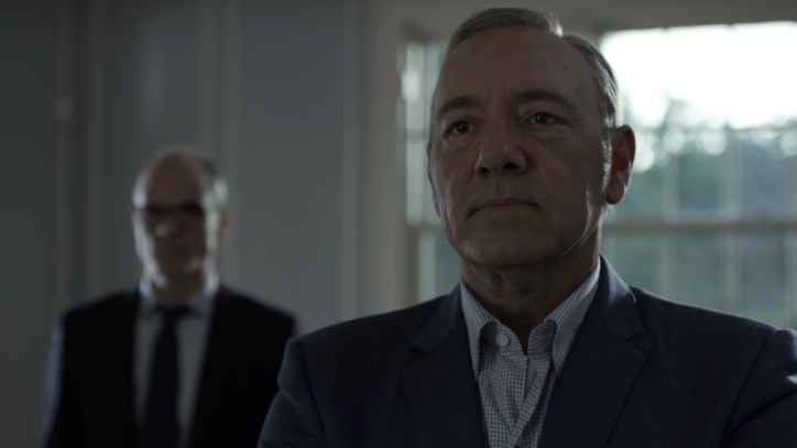 Watch Intense New 'House of Cards' Promo