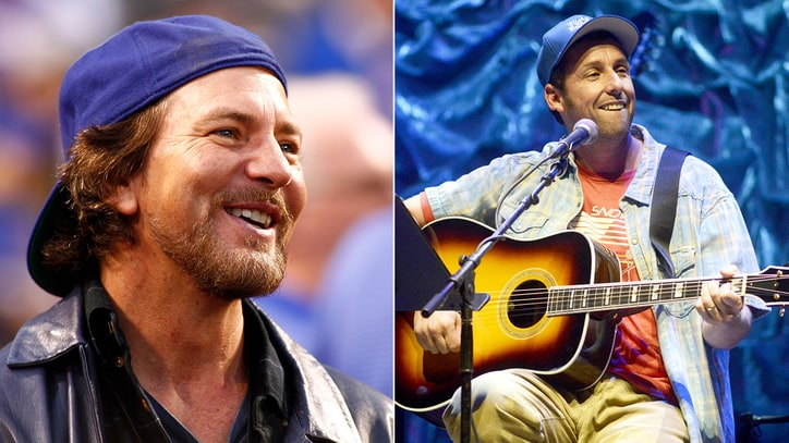 Watch Eddie Vedder Cover the Who With Adam Sandler, Norm MacDonald