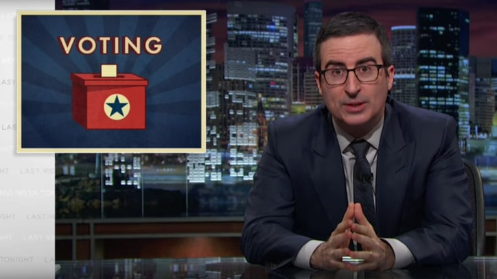 Watch John Oliver's Takedown of Voter ID Laws