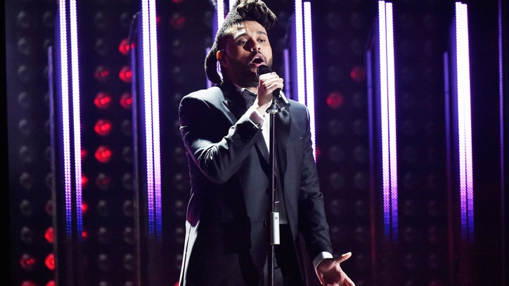 Watch the Weeknd Deliver Orchestral 'In the Night' at Grammys