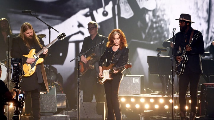 Chris Stapleton, Bonnie Raitt Helm B.B. King Grammy Tribute