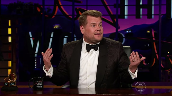 Rihanna Planned '80s Talk Show' Grammy Performance, Says James Corden