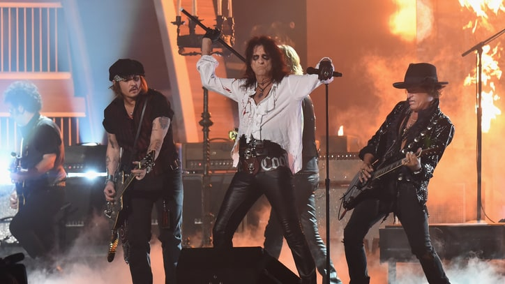 Hollywood Vampires Announce First U.S. Concert This Year