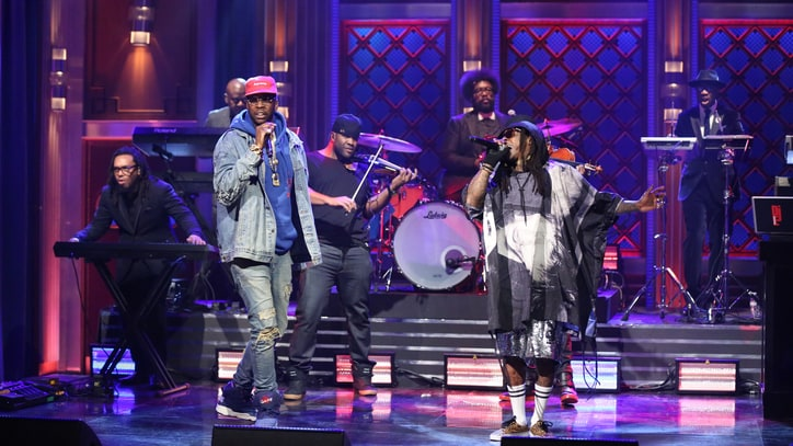 Lil Wayne, 2 Chainz Storm 'Fallon' With 'Rolls Royce Weather Everyday'