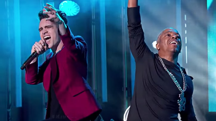 Watch Panic! at the Sisqo's Energetic 'Thong Song' on 'Kimmel'