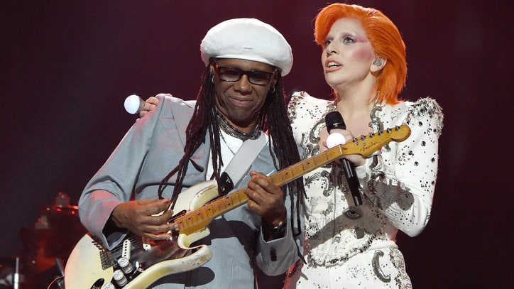 Nile Rodgers on Lady Gaga's Grammy Bowie Tribute: 'It Was All About Art'