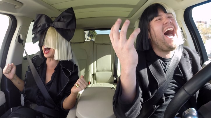 Watch Sia Talk Aliens, Decipher Lyrics in 'Carpool Karaoke'