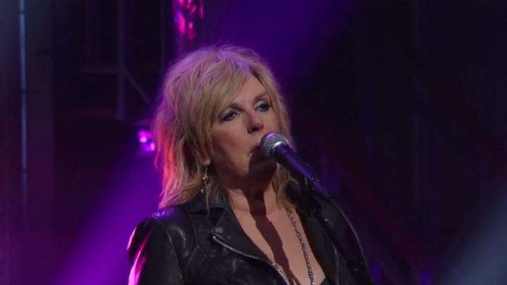 See Lucinda Williams' Gloomy 'Dust' on 'Colbert'