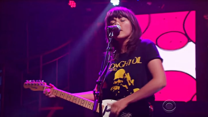Courtney Barnett Brings Infectious Anxiety to 'Colbert'