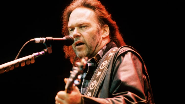 Flashback: Neil Young Sings 'Helpless' With Crazy Horse and David Crosby