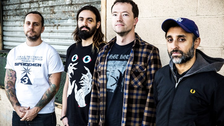 Hear Slipknot, Touche Amore Members Rage on Hesitation Wounds' 'Teeth'