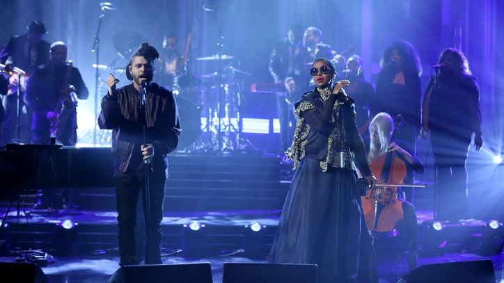 Watch the Weeknd, Lauryn Hill Perform 'In the Night' Together