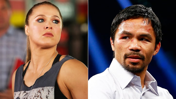 Ronda Rousey Rips Manny Pacquiao's Anti-Gay Comments