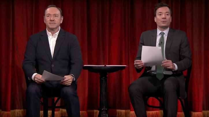 Watch Kevin Spacey, Fallon Perform Kid-Written 'House of Cards'