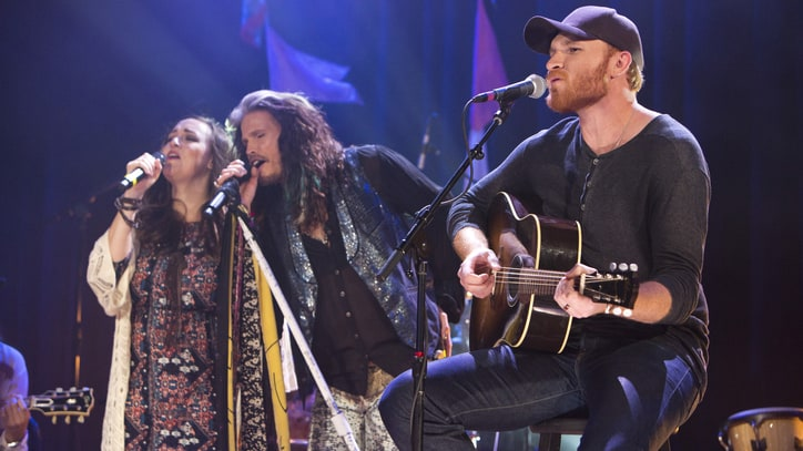 See Steven Tyler, Eric Paslay Team Up on 'Love Is Your Name'