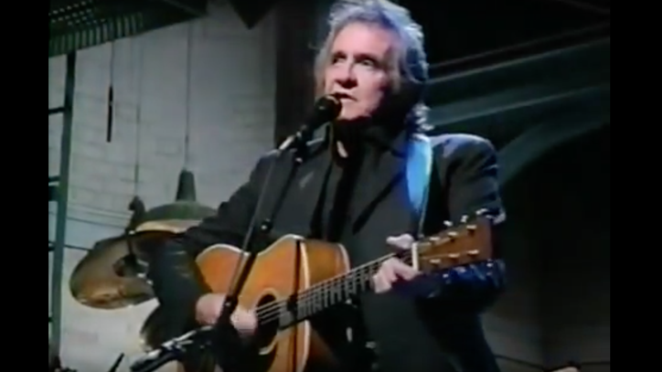 Flashback: See Johnny Cash Cover 'Blowin' in the Wind' on 'Letterman'