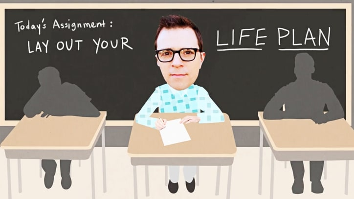 Weezer's Rivers Cuomo Reveals High-School Life Plan in Animated Video