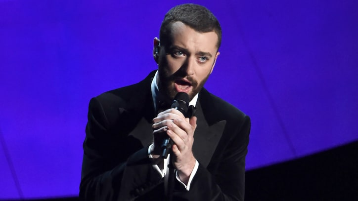 Watch Sam Smith's Dapper Oscars 2016 Performance